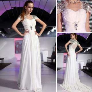 white women elegant wedding/evening floor long dress
