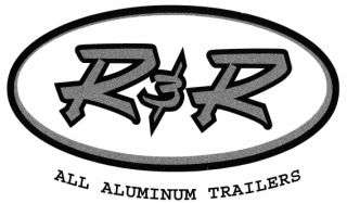 New R & R ALL Aluminum 7x14+2 V Nose Force Elite 3 Motorcycle Trailer