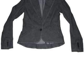798 NWT RALPH LAUREN BLACK LABEL WOMENS DENIM DRESS CASUAL JACKET