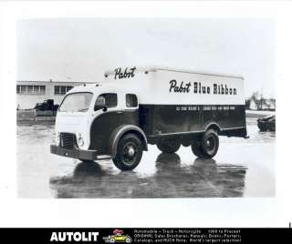 1950 White Model 3000 COE Truck Factory Photograph