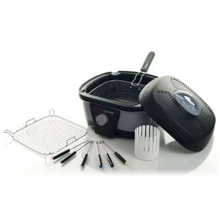 Wonder Cooker™ by Chef Tony   6 in 1   Non stick Surfaces   Modern