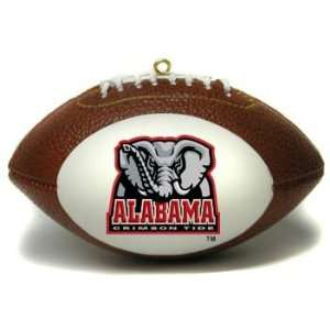 Alabama Crimson Tide Football Shaped Ornament *SALE