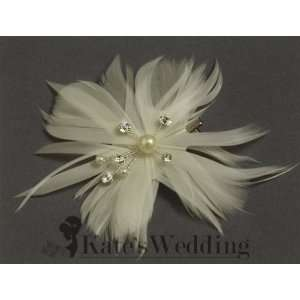 Accents and Swarovski Crystals Bridal Hair Accessories, Silver Tone