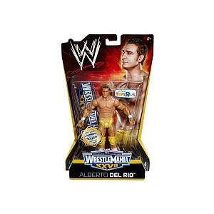 Wrestle Mania XXVII Action Figure Alberto Del Rio Toys & Games