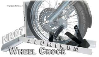 ALUMINUM MOTORCYCLE WHEEL CHOCK BIKE STAND CHOCKS (CL NR07)