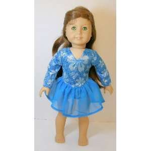 American Girl Doll Clothes Blue Skate Outfit Toys & Games