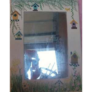 12 of White Hand Painted Kids Room / Sun Room Mirror