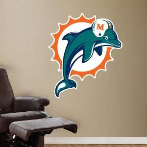 Miami Dolphins Logo Vinyl Wall Graphic Decal Sticker Poster Home