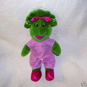 Barney Adorable Nurse Baby Bop 13 Plush Doll in Scrubs Toys & Games