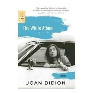 Whie Album Publisher Farrar, Sraus and Giroux Joan Didion Books