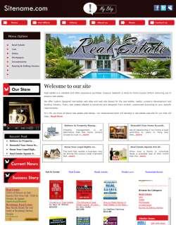 money making Real Estate Store  affliate Website for sale