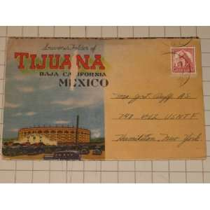 Post Card Folder Tijuana, Baja, California/Mexico