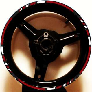 RIM STRIPES WHEEL DECALS TAPE STICKER KAWASAKI ZX 9R