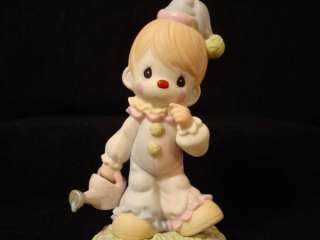 eg Precious Moments Rare Chapel Exclusive CLOWN/Smile