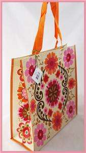 BRADLEY FOLKLORIC TOTE ECO FRIENDLY REUSABLE GO GREEN SHOPPER BAG