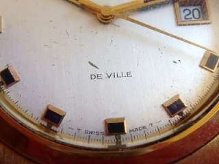 Omega deVille 1002 automatic watch for restore