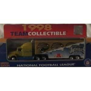Jacksonville Jaguars NFL Diecast 1998 Matchbox Tractor