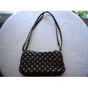 Vera Bradley Amy Vibrant Black Purse Retired: Everything