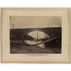 Union Arch,Washingon aqueduc,Meigs,Cabin John Bridge