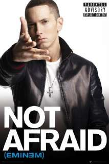 Eminem Not Afraid * Poster * Slim Shady, Marshall Mathers * New