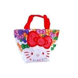Limited Style Cute Large Size Hello Kitty Style Tote Lunch Bag