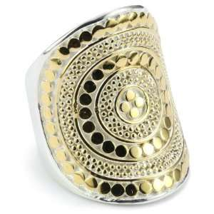 Anna Beck Designs Lombok Saddle 18k Gold Plated Ring