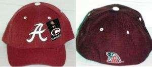 Alabama Crimson Tide NCAA Cap Fitted Hat 7 3/8