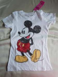 Vintage Mickey Mouse, Minnie Mouse Short Sleeve Graphic Tees