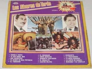 LOS ALEGRES DE TERAN   15 SUPER EXITOS   LP norteño