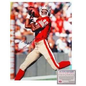 Jerry Rice San Francisco 49ers NFL Hand Signed 16x20