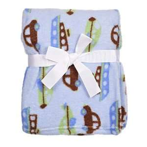 Cutie Pie Baby Blanket Going Places (Cars, Boats, Helicopters) Baby