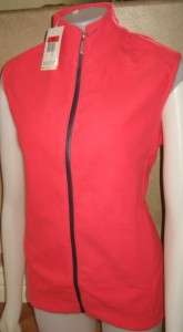 NEW NIKE GOLF WOMENS JACKET FIT VEST S 4 6 THERMA $80 P