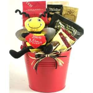 Bee Mine, Valentines Day Gift Basket  Grocery & Gourmet