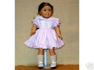American Girl Doll Clothes Lilac Dress & Shoes*