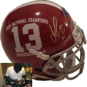 Javier Arenas Autographed/Hand Signed Alabama Crimson Tide