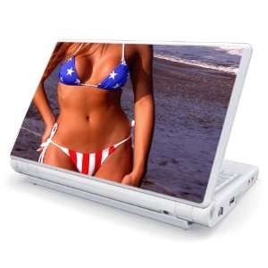 US Flag Bikini Design Skin Cover Decal Sticker for Acer (Aspire ONE) 8