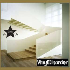 Proud Army Family Star Patriotic Vinyl Wall Decal Sticker Mural Quotes