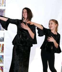 Gothic Medieval Gypsy DARK Angel vamp BLACK GIRLS velvet bell sleeve