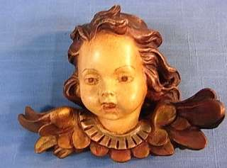 CHERUB ANGEL HEAD CERAMIC VINTAGE GERMAN 1967´S EG11