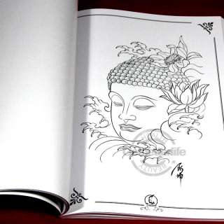 Picture Flower Tattoos on Classical Tattoo Flash Art Designs Book Mix Image A3 Size Supply