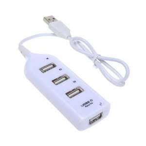 High Speed 4 Port Mini USB 2.0 Universal Serial Bus 4 Slot 2