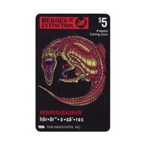 Card: $5. Heros of Extinction: Herrerasaurus Dinosaur: Everything Else
