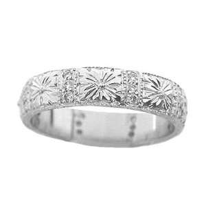 Engraved Wedding Ring: Jewelry