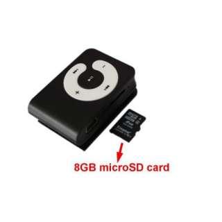 Unique Friend Christmas Gift Portable Super Mini Clip  Player