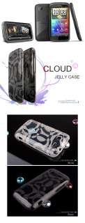 HTC SENSATION SILICONE TPU CASE SOFT COVER SKIN