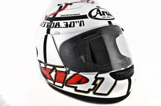 Arai Corsair V Haga Monza Helmet WHITE XL New