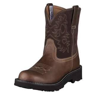 Ariat Womens Fatbaby Cowboy Western Boots Brown Rebel 10000824