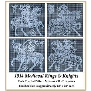 Lace Chart Pack   Medieval Kings & Knights: Wolf & Dupeyron: Books