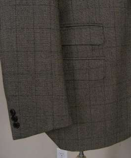 Arnold Zimberg Cashmere Wool Sport Coat Brown 43R ITALY