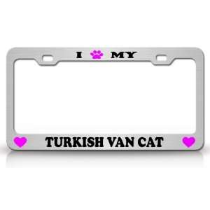 I PAW MY TURKISH VAN Cat Pet Animal High Quality STEEL